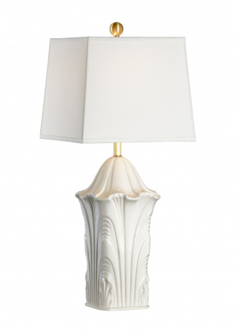 Chelsea House - Square Acanthus Lamp - 69001