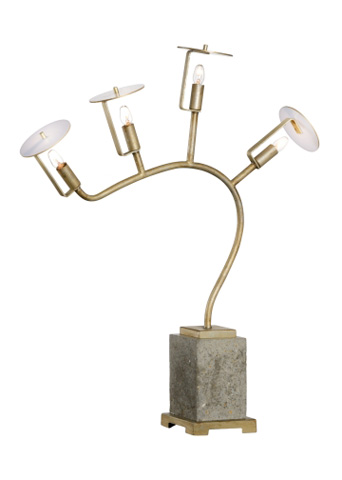 Chelsea House - Orchid Lamp - 69019