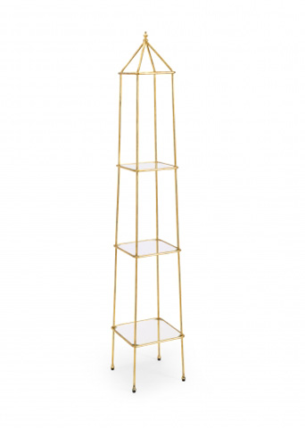 Image of Jackson Etagere in Gold
