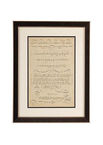 Image of Alphabet Sampler I Art