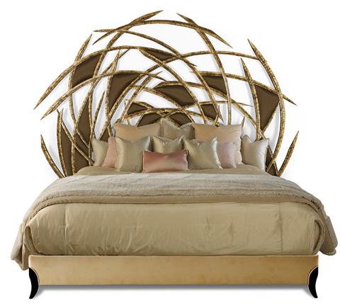 Christopher Guy - Bird Nest Sculpture Headboard - 20-0520-B