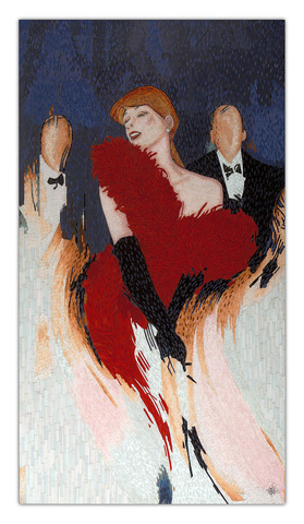 Christopher Guy - Piaf Wall Piece - 46-0368