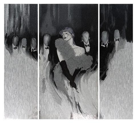 Christopher Guy - Vie Nocturne Mono Wall Piece - 46-0371