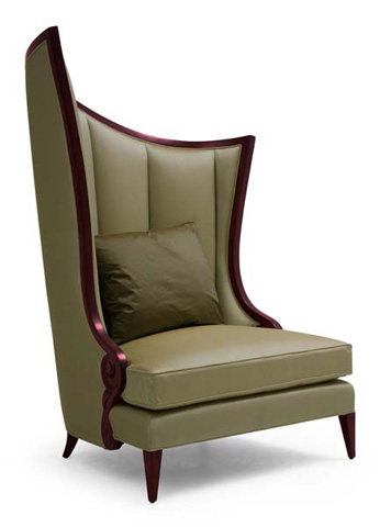 Christopher Guy - Courbure Gauche Chair - 60-0214