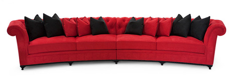 Christopher Guy - McQueen Curved Sofa - 60-0337