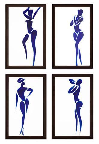 Christopher Guy - Les Quatre Dames Wall Decor - 46-0232