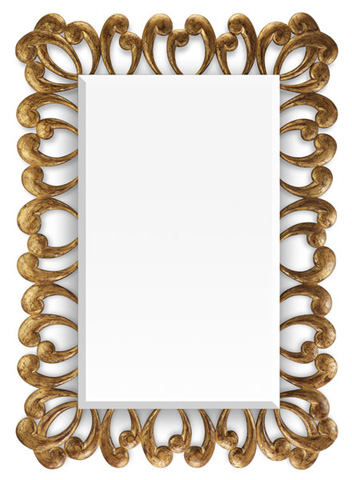 Christopher Guy - The Apostrophe Wall Mirror - 50-2431-B
