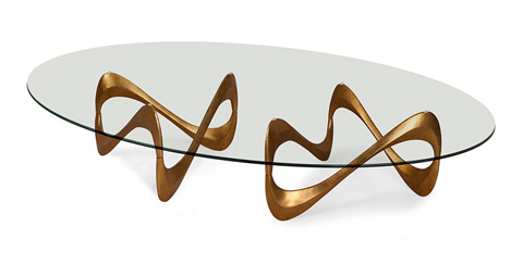 Christopher Guy - Double Parisian Graffiti Cocktail Table - 76-0307
