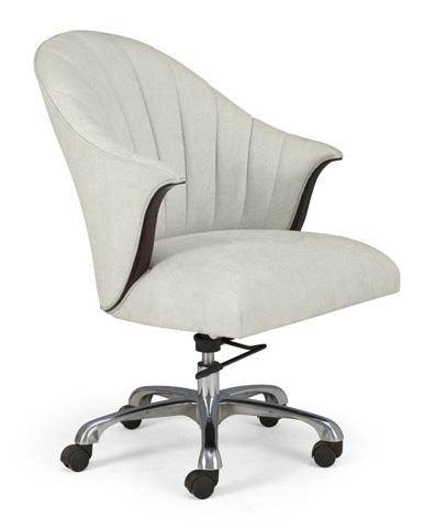 Christopher Guy - Josephine Swivel Office Chair - 60-0303-ALUM