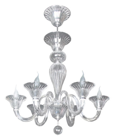 Christopher Guy - Luminox Chandelier - 90-0012-CLEAR