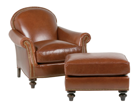 Classic Leather - St. James Chair - 456