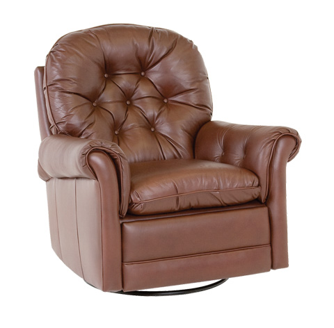 Classic Leather - Crescent Swivel Glider Recliner - 160-SGR