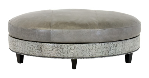 Image of Palermo Oval Cocktail Ottoman