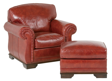 Classic Leather - Providence Ottoman - 8005