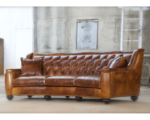 Classic Leather - Chelsea Tufted Sofa - 8628-T