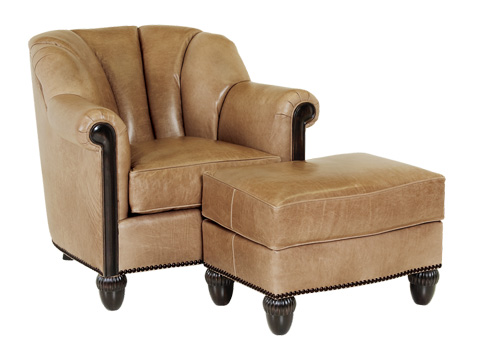 Classic Leather - Gownsman Chair - 6936