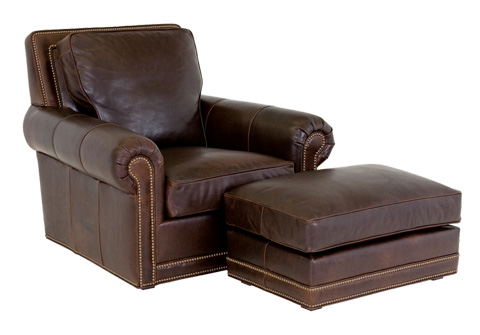 Classic Leather - Coolidge Ottoman - 8635