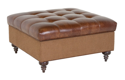 Classic Leather - Roland Storage Ottoman - 11604-SO