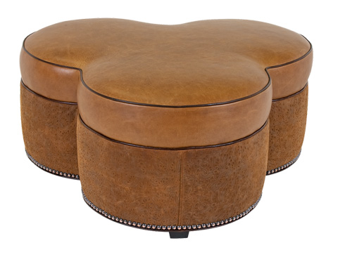 Classic Leather - Beacon Hill Ottoman - 1605