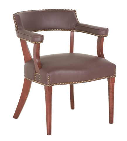 Classic Leather - Director's Chair with Nailhead Trim - 103