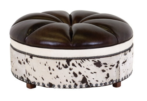 Classic Leather - Candice Ottoman - 1600