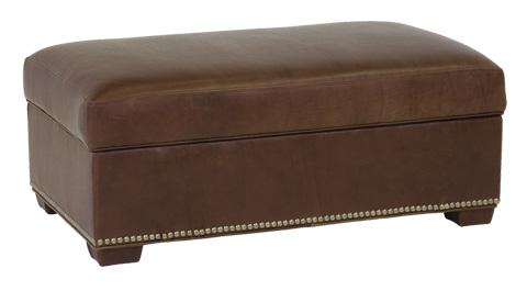 Classic Leather - McGrath Storage Ottoman - 4724-SO