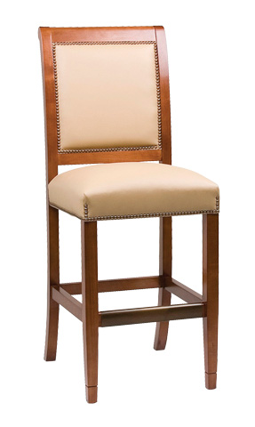 Classic Leather - Fairmount Armless Bar Stool - 6180ABS-49