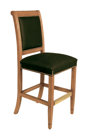 Classic Leather - Fremont Armless Bar Stool - 6184ABS-49