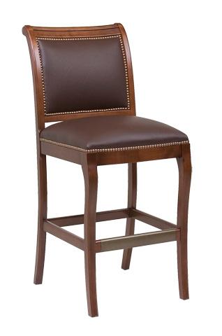 Classic Leather - Chateau Armless Bar Stool - 6429ABS