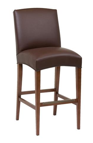 Classic Leather - Metro Armless Bar Stool - 7130ABS