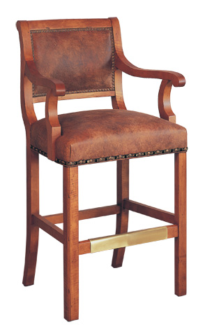 Classic Leather - Regency Bar Stool - 7626-30