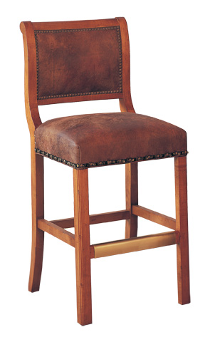 Classic Leather - Regency Armless Bar Stool - 7627-30