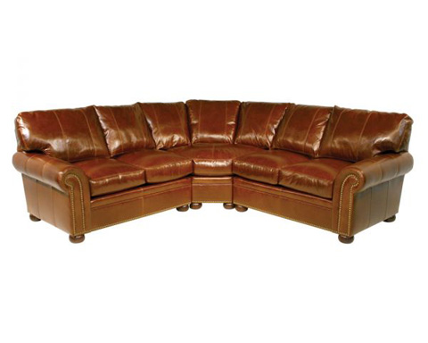 Classic Leather - Easton Sectional - 111512/111511