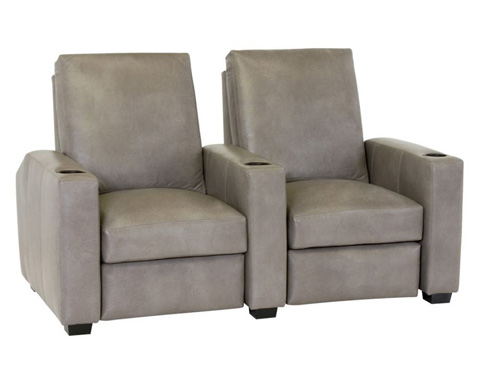 Classic Leather - Motorized Recliner Theatre Chairs - 760/766