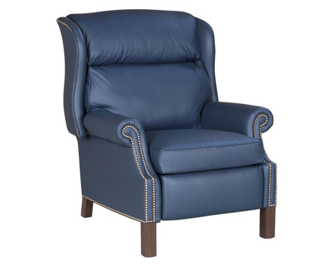 Image of Bridger Bustle-Back High-Leg Recliner
