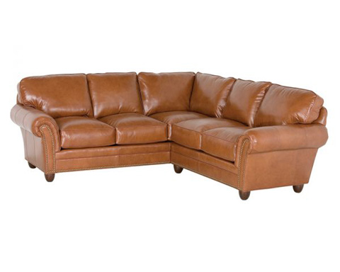 Classic Leather - Keswick Sectional - 694-LAF, 692-RAF