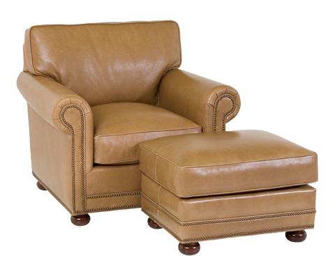 Image of Larsen Chair and Ottoman