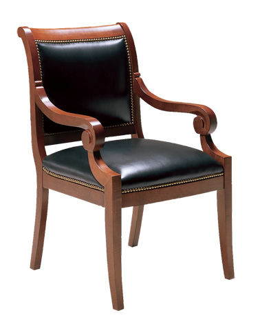 Classic Leather - Bookbinder Chair - 6431