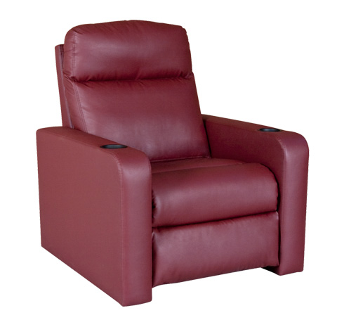 Classic Leather - Genesis Motorized Home Theatre Recliner - HT-101-MR