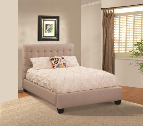 CMI - Queen Upholstered Bed - 2206Q