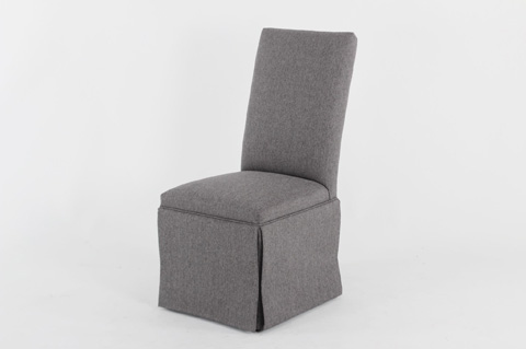 CMI - Upholstered Side Chair with Skirt - 604