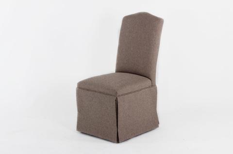 CMI - Camel Back Skirted Side Chair - 615