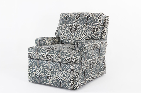Image of Skirted Swivel Glider