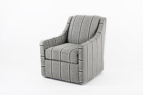 Image of Swivel Club Chair