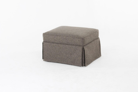 Image of Skirted Ottoman