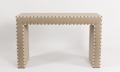 Image of Linen Combo Console Table