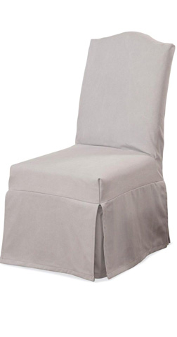 Image of Camel Top Slipcover Side Chair