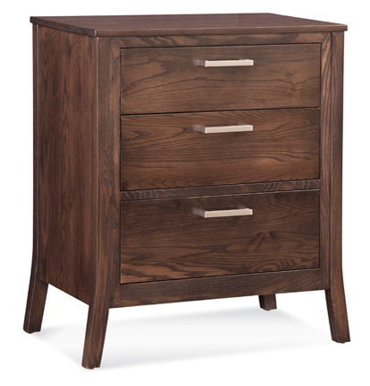 Conrad Grebel - Milbridge Three Drawer Nightstand - D80N