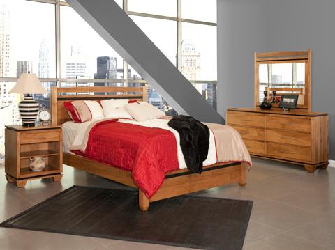 Conrad Grebel - Binghamton Queen Bed - D90F-M31