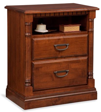 Conrad Grebel - Chesterton Two Drawer Nightstand - D95E